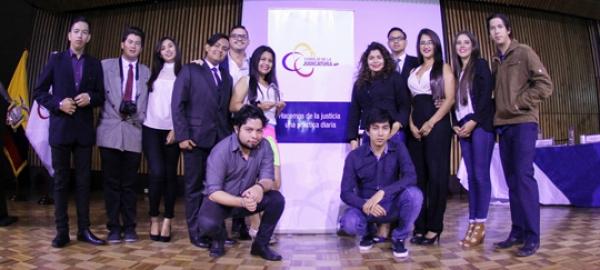ganadores del concurso de cortometrajes.
